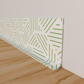 plinthe d co cactus coloris vert g n rique 4murs. Black Bedroom Furniture Sets. Home Design Ideas