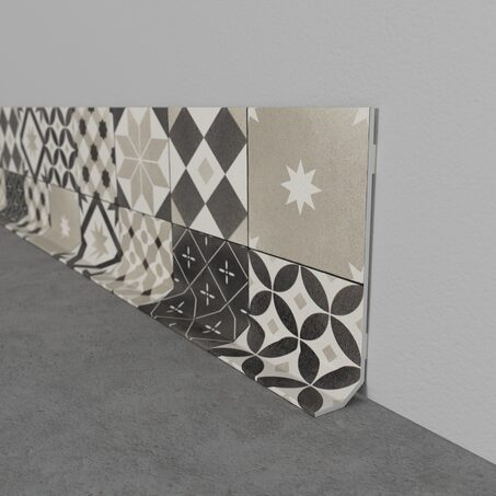 Decorative skirting board CARREAUX DE CIMENT