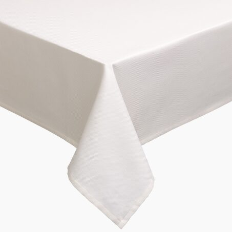 Tablecloth PYRAMIDE colour white 150 x 235 cm
