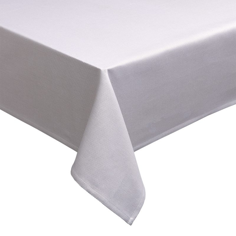 Nappe PYRAMIDE coloris taupe 150 x 235 cm