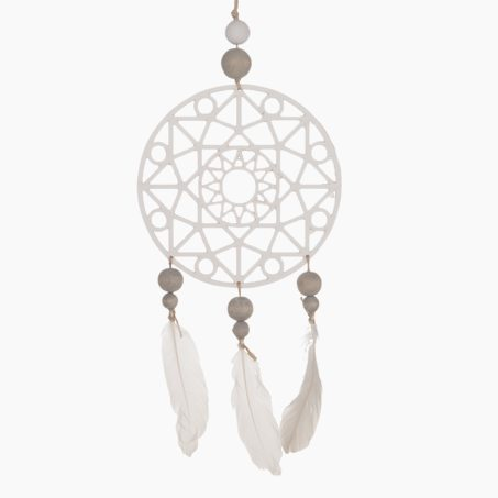 Attrape rêve DREAM CATCHER coloris brun