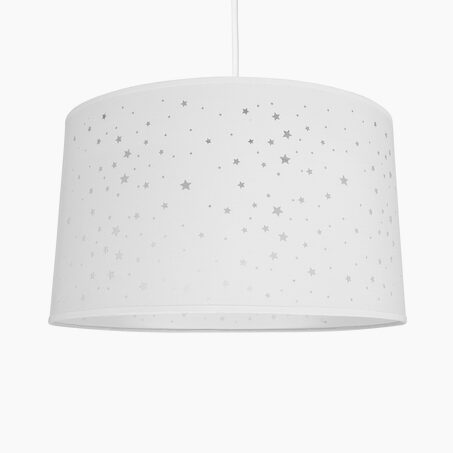 Suspension STARS coloris blanc 23 x 40 cm