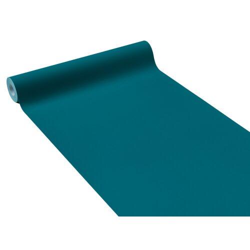 papier peint intiss opal coloris bleu paon papier peint welldeco. Black Bedroom Furniture Sets. Home Design Ideas