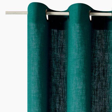 rideau mikado coloris vert 140 x 260 cm rideau welldeco. Black Bedroom Furniture Sets. Home Design Ideas