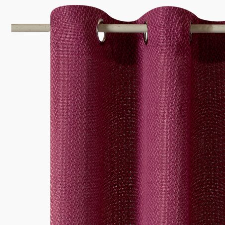 Curtain ROSINE colour raspberry pink 135 x 240 cm