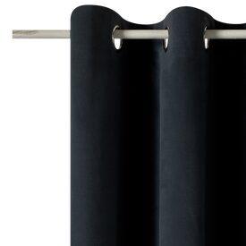 rideau velvet coloris bleu paon 140 x 260 cm rideau 4murs. Black Bedroom Furniture Sets. Home Design Ideas