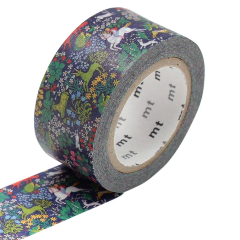 Masking tape TROPICAL FOREST coloris vert