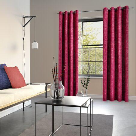 rideau maeva coloris violet 135 x 240 cm rideau 4murs. Black Bedroom Furniture Sets. Home Design Ideas