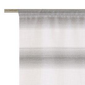 store panorama coloris gris anthracite 58 x 130 cm blanc rideau 4murs. Black Bedroom Furniture Sets. Home Design Ideas