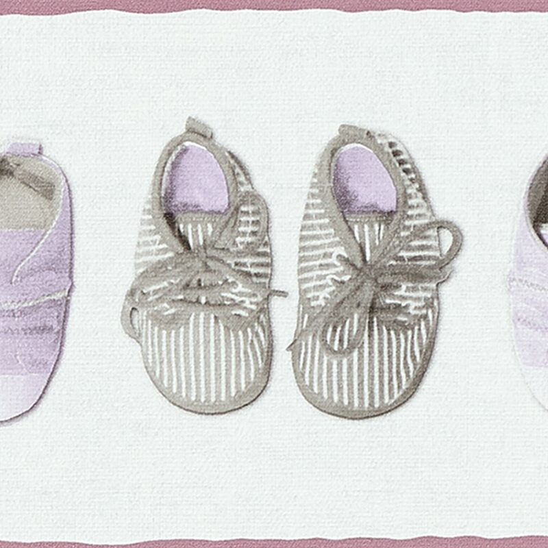 Frise intissée LITTLE SHOES coloris blanc