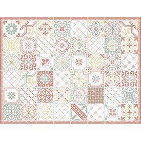 Tapis Rideaux Textiles Déco Murs - Plinthe carrelage et petit tapis berbere