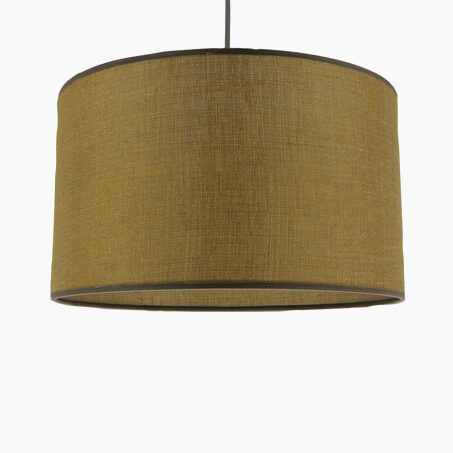 Pendant light BARBARA colour mustard yellow 18 x 29 cm