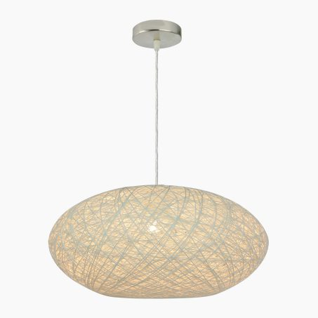 Pendant light COCON colour sisal 20 x 45 cm