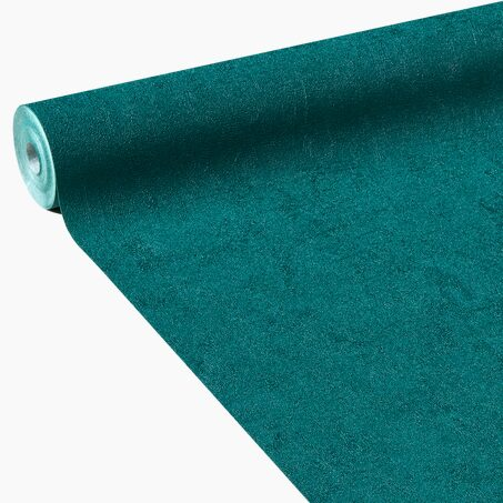Non-woven wallpaper PALAZZO colour emerald green