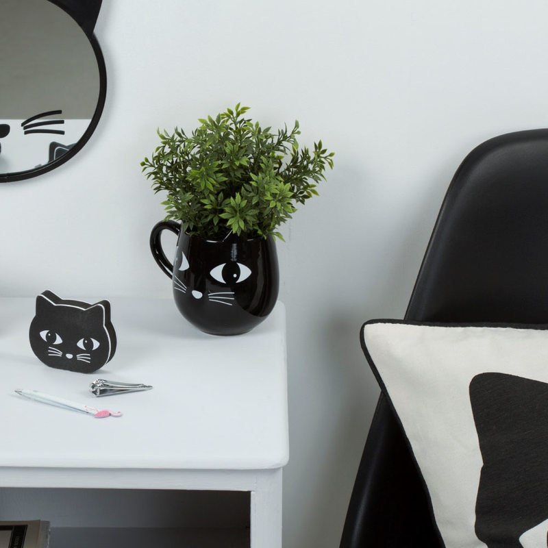 Mug BLACK CAT coloris noir