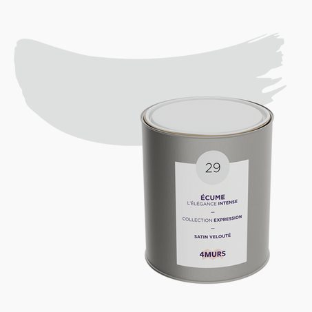 Peinture Multi-supports EXPRESSION Acrylique écume Satiné 2,5 L