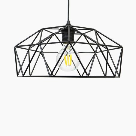 Pendant light BLAST colour black 15 x 32 cm