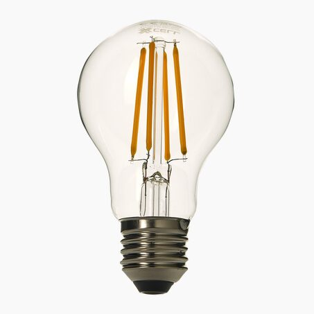 Light bulb LED 60W E27 warm lighting colour yellow 8 x 5 cm