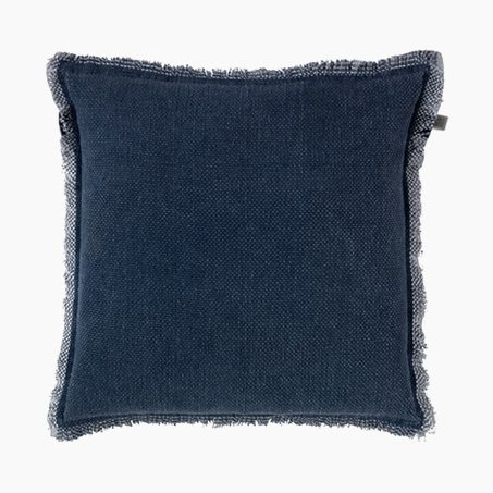 Cushion BURTA colour blue 45 x 45 cm