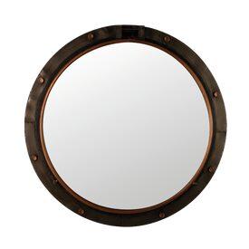 Intiss byre by sophie ferjani coloris ton bois marron for Miroir 4 murs