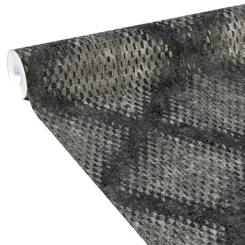 papier peint intisse metal diamond