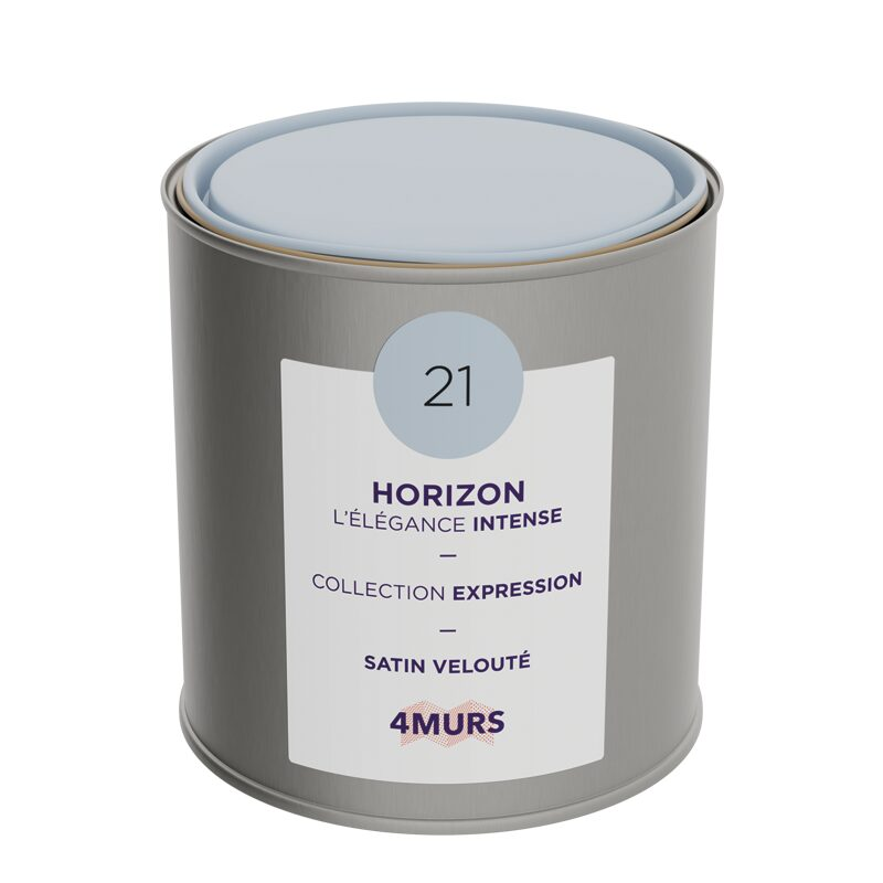 Peinture Finition EXPRESSION Acrylique horizon Satiné 0,5 L