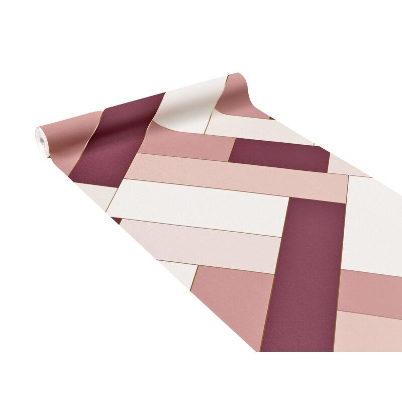OLIVIA coeurs Papier Peint Rouleaux-Blush-ARTHOUSE 669701-Roses Rose