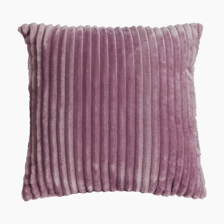 Coussin ALANYA coloris framboise 45 x 45 cm