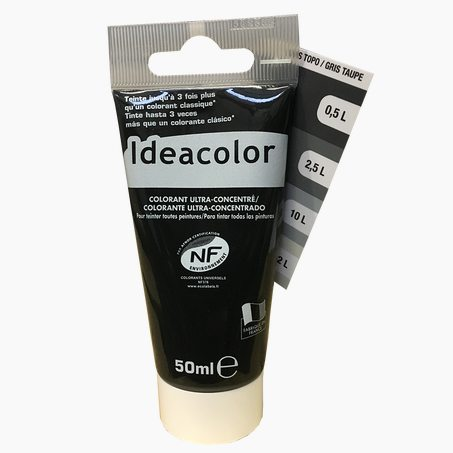 Tinting Paint COLOURANT Acrylic taupe grey 0,05 L