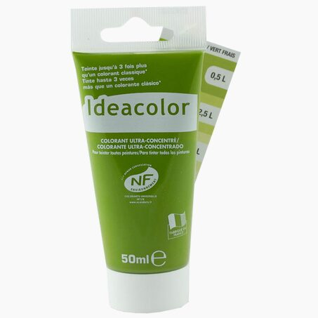 Tinting Paint COLOURANT Acrylic fresh green 0,05 L