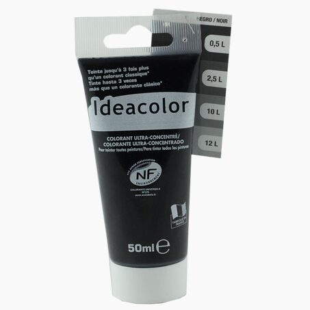 Tinting Paint COLOURANT Acrylic black 0,05 L