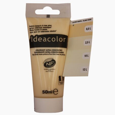 Tinting Paint COLOURANT Acrylic ivory white 0,05 L