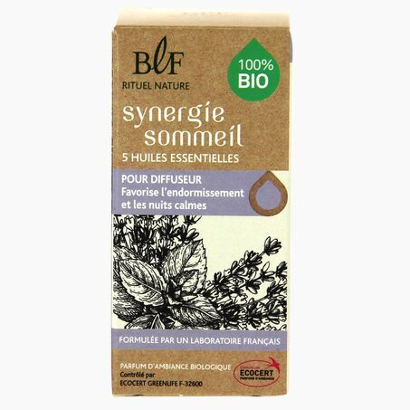 Huile essentielle SYNERGIE SOMMEIL coloris beige