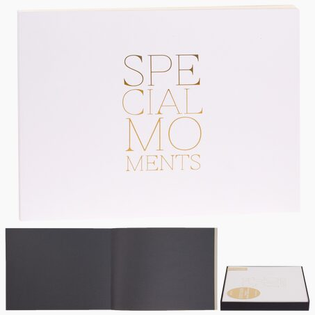 Livre d'or SPECIAL MOMENTS coloris blanc