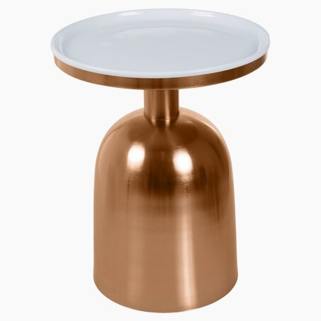 Table IKONIC colour coppery brass
