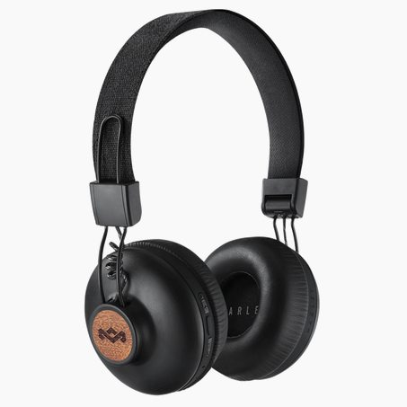 Casque POSITIVE VIBRATION X HOUSE OF MARLEY coloris noir