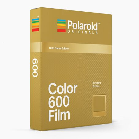 Photographie FILM I-TYPE G X POLAROID coloris or