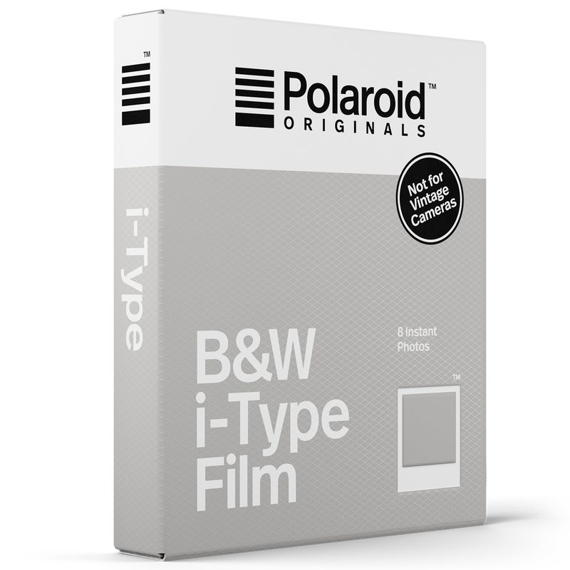 Photographie B&W FILM X POLAROID coloris blanc