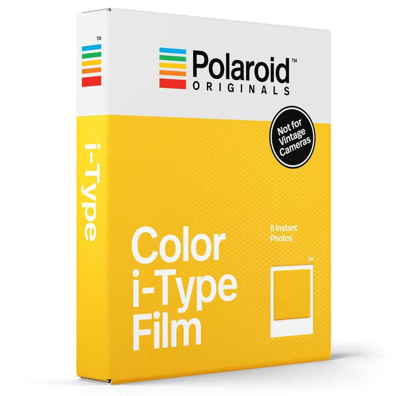 Photographie COLOR FILM I TYPE X POLAROID coloris Blanc