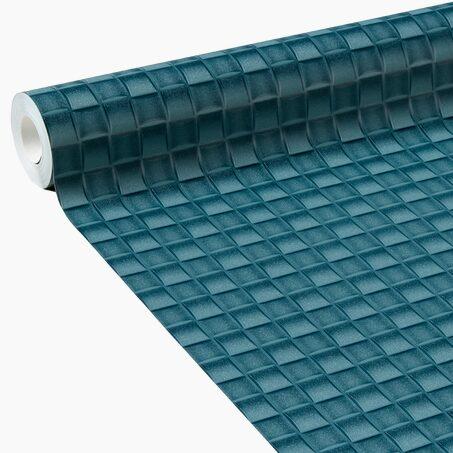 papier peint intiss clint coloris bleu p trole or papier peint 4murs. Black Bedroom Furniture Sets. Home Design Ideas
