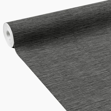 Non-woven wallpaper CURAÇAO colour black