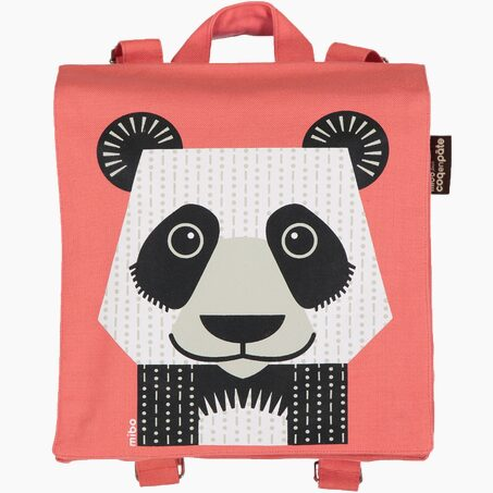 Backpack PANDA colour red