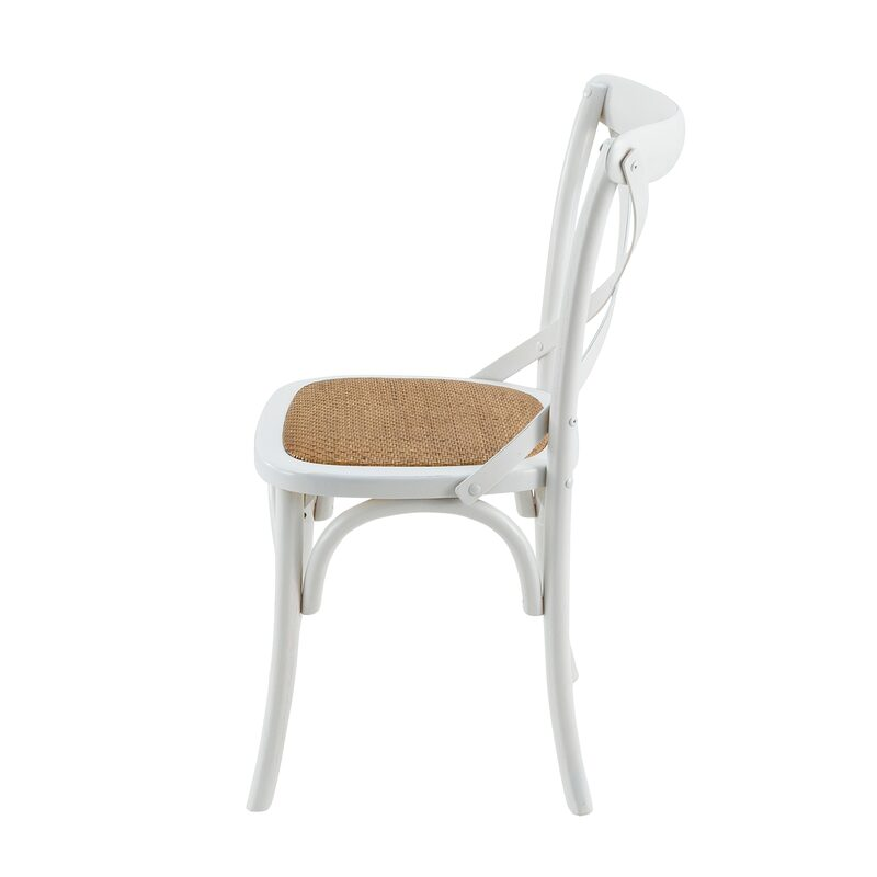 Chaise BISTROT coloris blanc