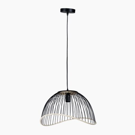 Suspension FILEN coloris noir 25 x 41 cm