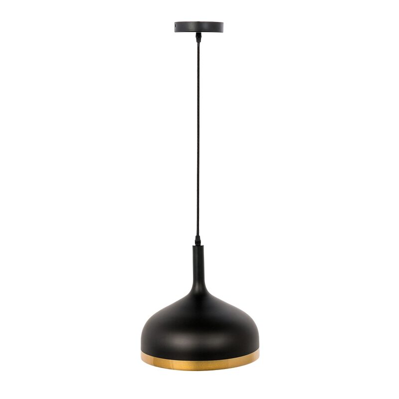 Suspension BELL coloris noir 30 x 30 cm