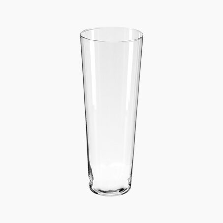 Vase CONIQUE TRANSPARENT H40