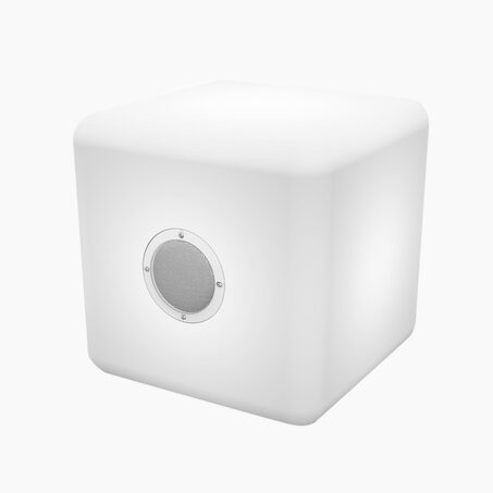 Enceinte COLORCUBE X BIG BEN coloris blanc 30 x 30 cm