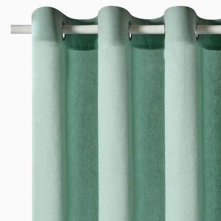 Rideaux Textiles Couleurs Vert 4murs