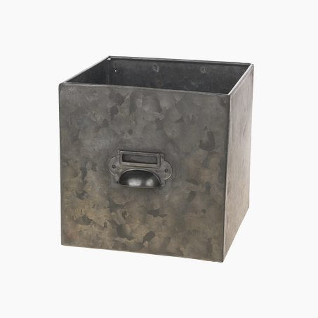 Cache-pot DEVON coloris gris