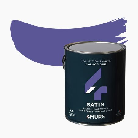 Peinture Multi-supports SAPHYR Alkyde galactique Satiné 2,5 L